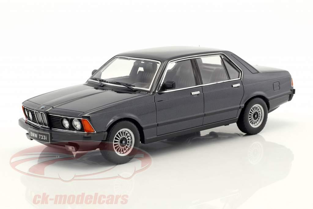 1977 1:18 KK-Scale metallic-dunkelgrün BMW 733i E23