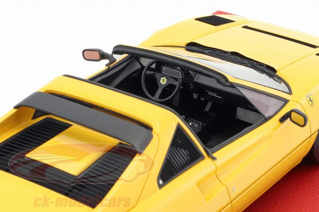 Ferrari 208 GTS Turbo année de construction 1983 jaune 1:18 BBR