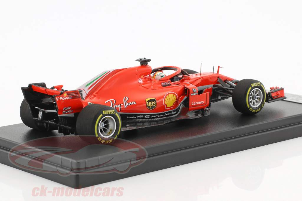 Sebastian Vettel Ferrari SF71H #5 Winner Australien GP Formel 1 2018 1:43 LookSmart