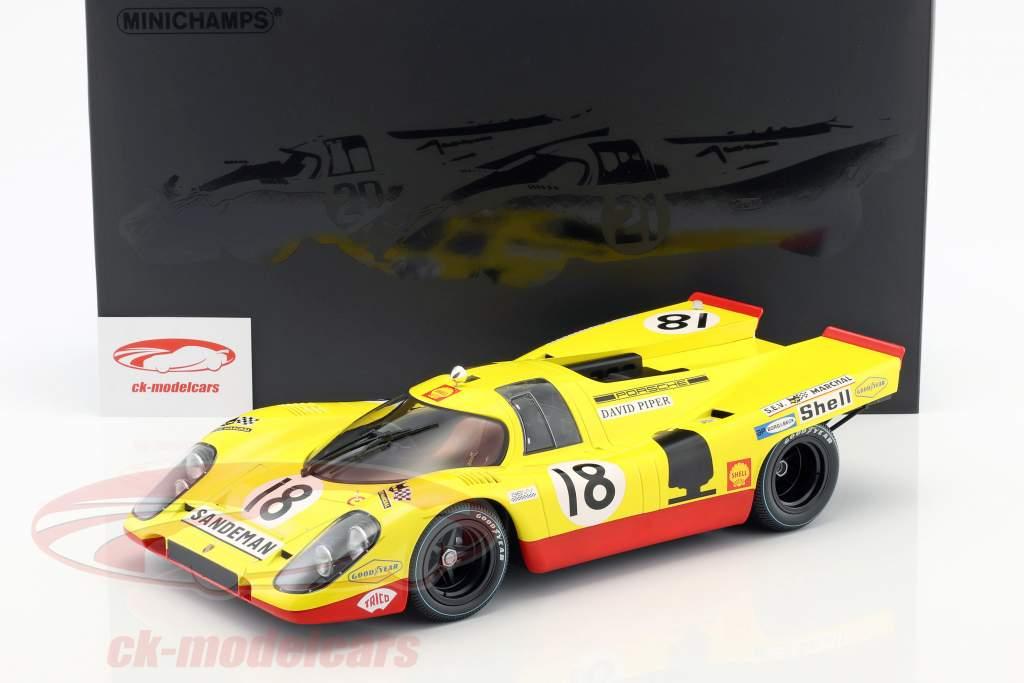 Porsche 917K #18 24h LeMans 1970 van Lennep, Piper 1:12 Minichamps