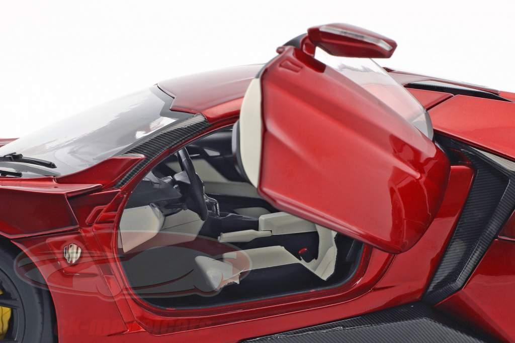 Lykan Hypersport rot metallic 1:18 Schuco