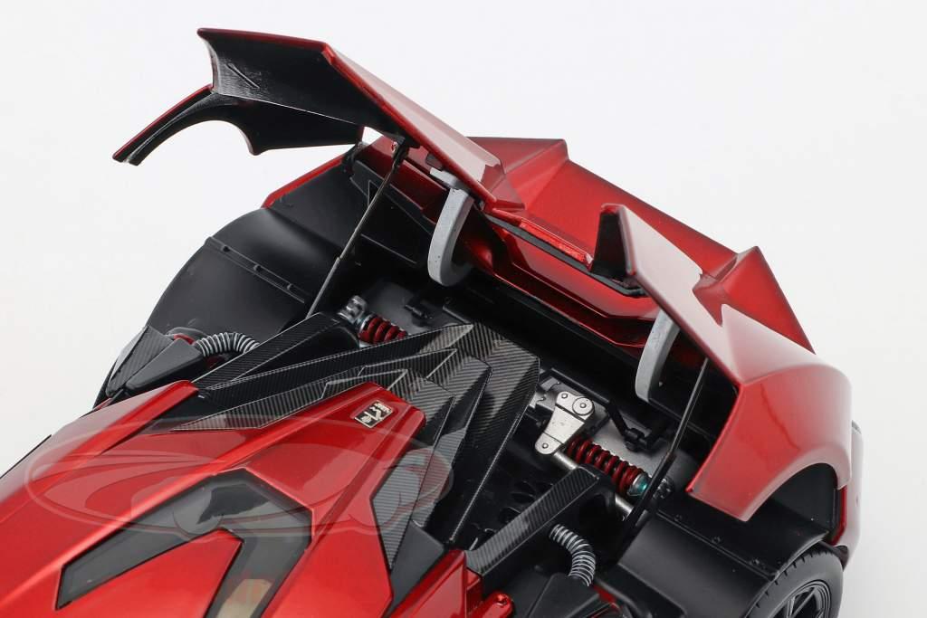 Lykan Hypersport rosso metallico 1:18 Schuco