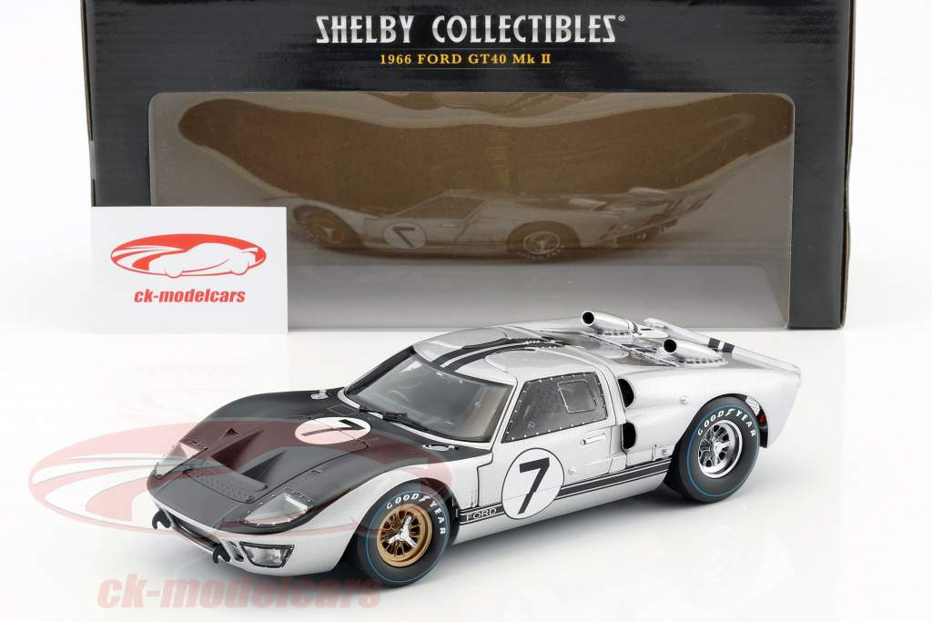 Ford GT40 Mk II #7 24h LeMans 1966 Hill, Muir 1:18 Shelby Collectibles