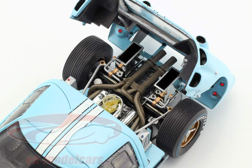 Ford GT-40 MK II #1 24h LeMans 1966 Miles, Hulme 1:18 ShelbyCollectibles
