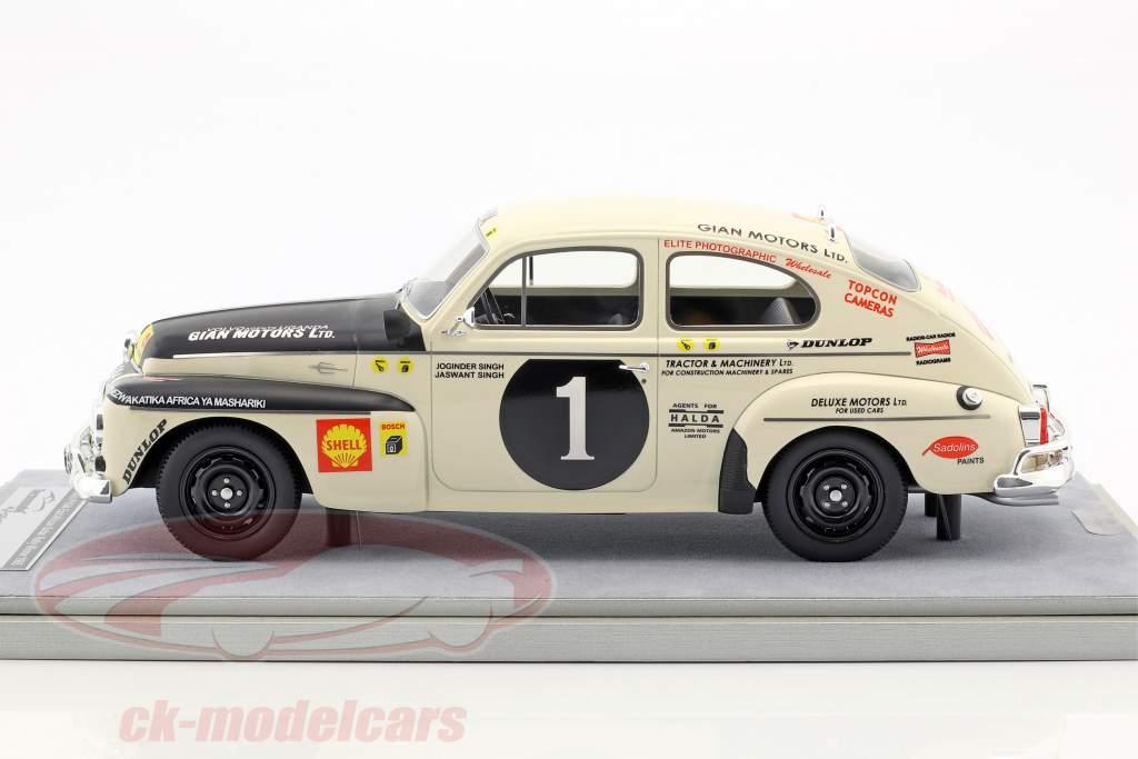Volvo PV 544 #1 vincitore Rallye Africa orientale safari 1965 J.Singh, J. Singh 1:18 Tecnomodel