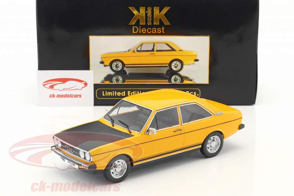 Audi 80 GTE yellow / black 1:18 KK-Scale