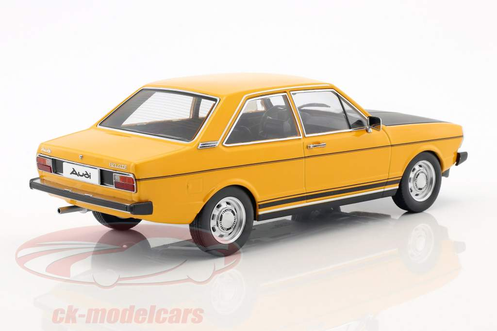 Audi 80 GTE giallo / nero 1:18 KK-Scale