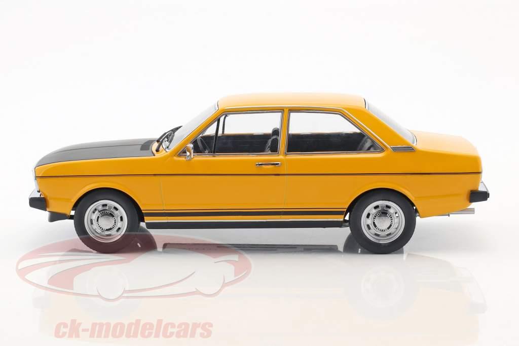 Audi 80 GTE amarillo / negro 1:18 KK-Scale
