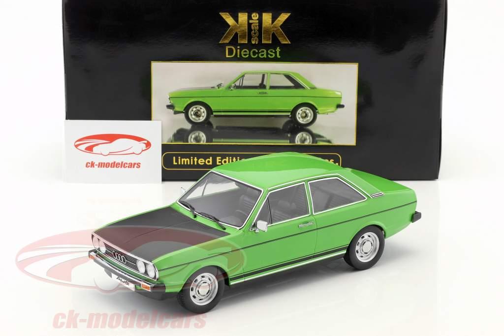 Audi 80 GTE verde / nero 1:18 KK-Scale