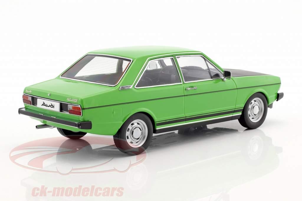Audi 80 GTE grøn / sort 1:18 KK-Scale