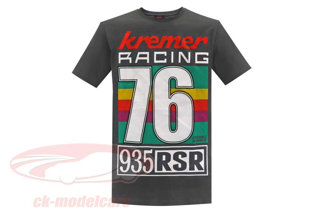 T-shirt Kremer Racing 76 gray