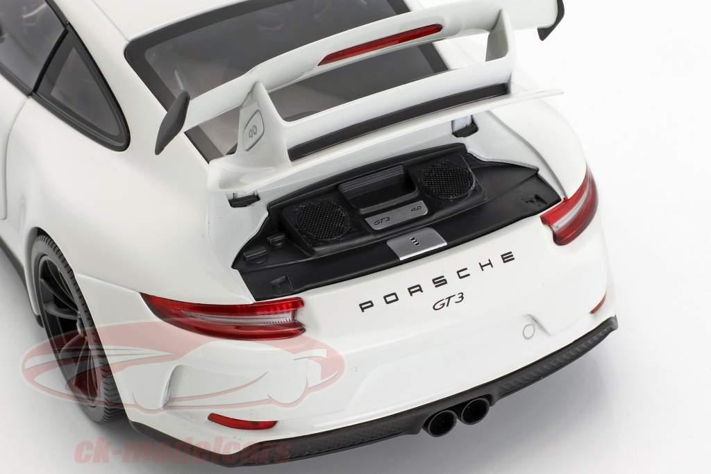 Porsche 911 (991 II) GT3 Baujahr 2017 weiß 1:18 Minichamps