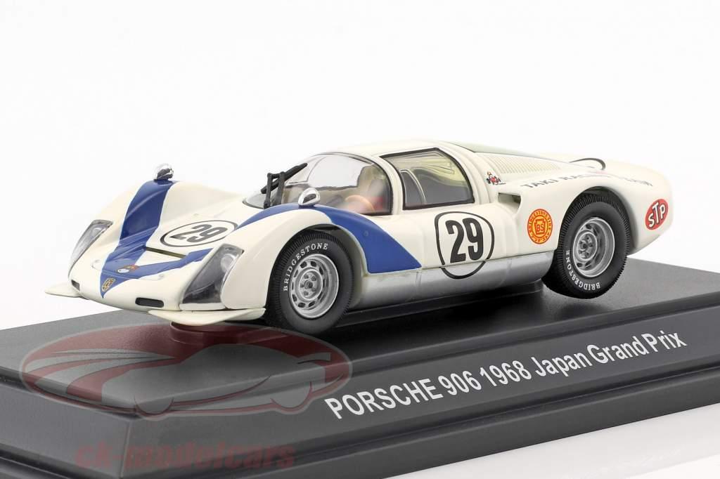 Porsche 906 #29 7 Japon GP 1968 Hiroshi Katahira 1:43 Ebbro