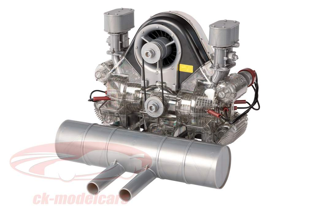 Porsche Carrera racing engine 4-cylinder Boxer Model Type 547 year 1953 kit 1:3 Franzis