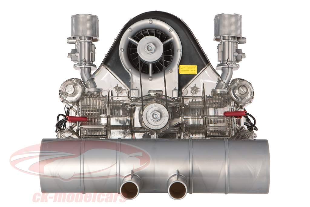 Porsche Carrera racemotor 4-cilinder Boxer type 547 Bouwjaar 1953 uitrusting 1:3 Franzis