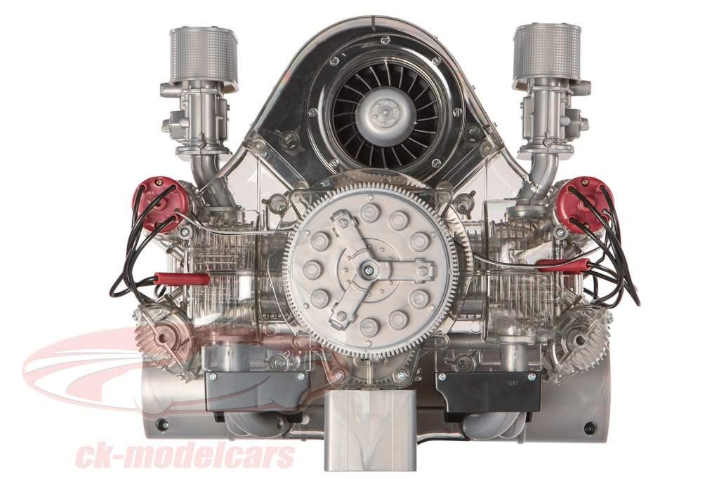 Porsche motore da corsa Carrera 4 cilindri del modello Boxer tipo 547 anno di costruzione 1953 kit 1:3 Franzis