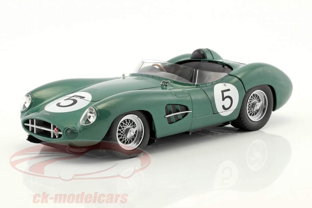 Aston Martin DBR1 #5 ganador 24h LeMans 1959 Shelby, Salvadori 1:18 CMR