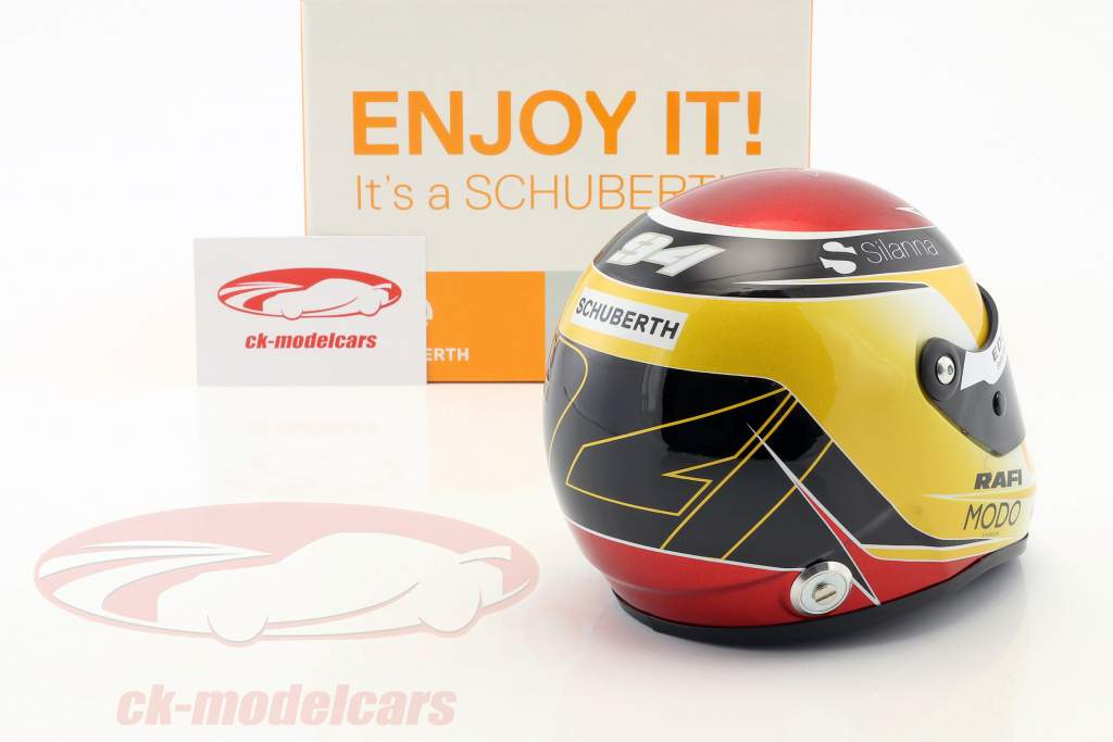 Pascal Wehrlein Sauber C36 #94 formule 1 2017 helm 1:2 Schuberth