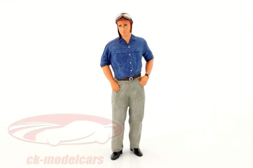 Juan Manuel Fangio historisch figuur formule 1 1:18 FigurenManufaktur