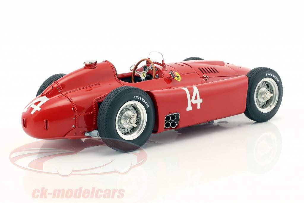 Peter Collins Ferrari D50 #14 Winner Frankreich GP Formel 1 1956 1:18 CMC