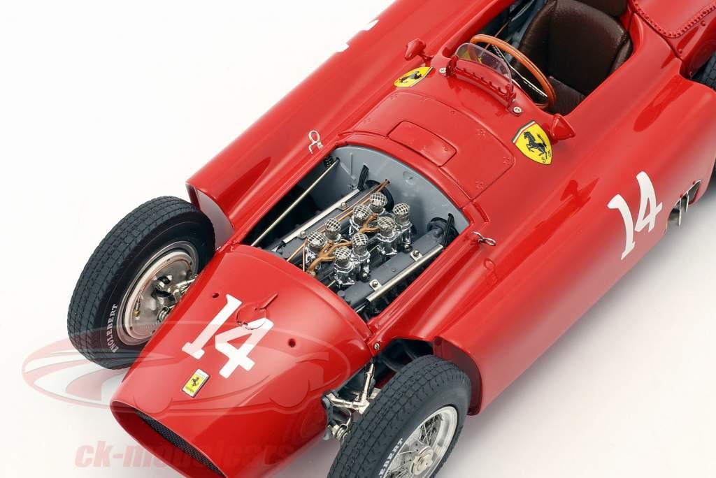 Peter Collins Ferrari D50 #14 ganador francés GP fórmula 1 1956 1:18 CMC