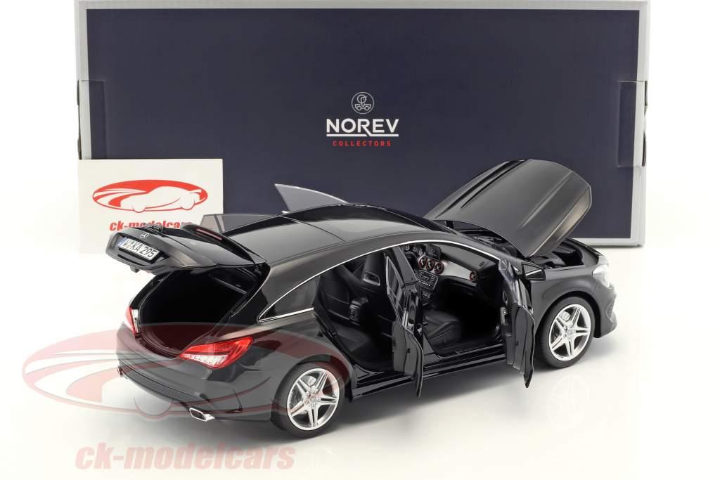 Mercedes-Benz CLA-Klasse (X117) Shooting Brake Baujahr 2015 schwarz 1:18 Norev