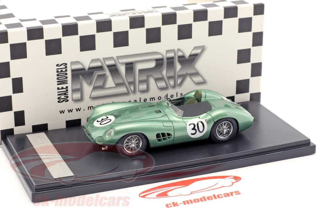 S. Moss Aston Martin DBR1 #30 2 Silverstone Sports Car Race 1959 1:43 Matrix