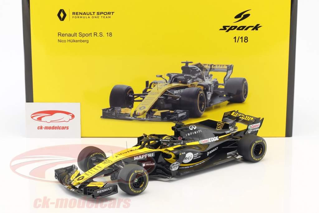 Nico Hülkenberg Renault R.S.18 #27 China GP formula 1 2018 1:18 Spark