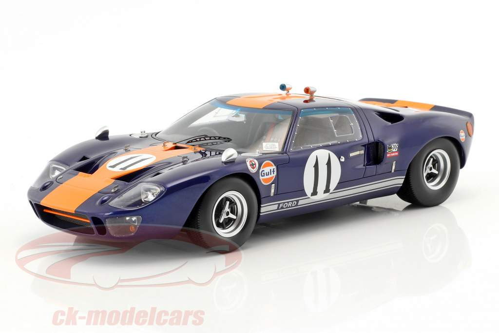 Ford GT 40 #11 24h Daytona 1967 Thompson, Ickx 1:18 Spark
