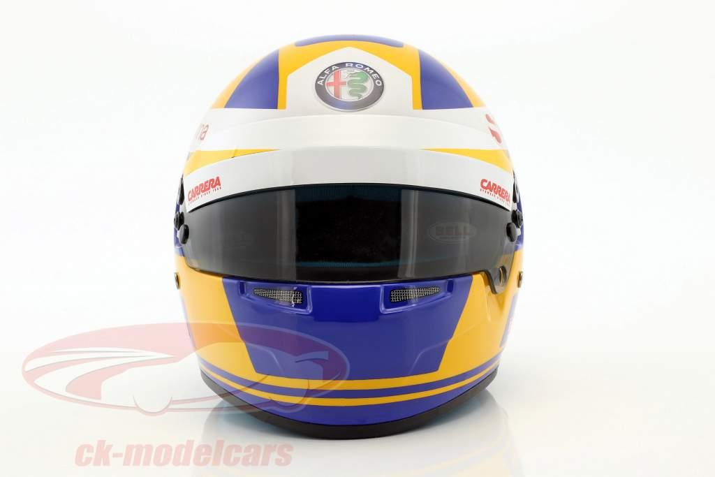 Marcus Ericsson Sauber C37 #9 formula 1 2018 casco 1:2 Bell