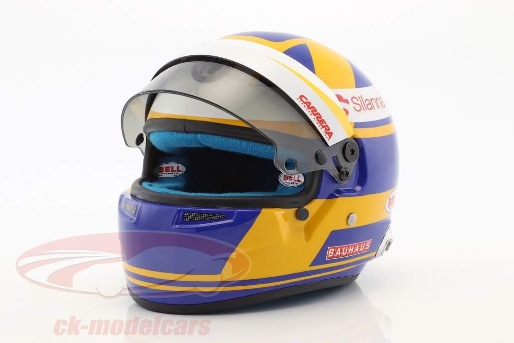 Marcus Ericsson Sauber C37 #9 Formel 1 2018 Helm 1:2 Bell