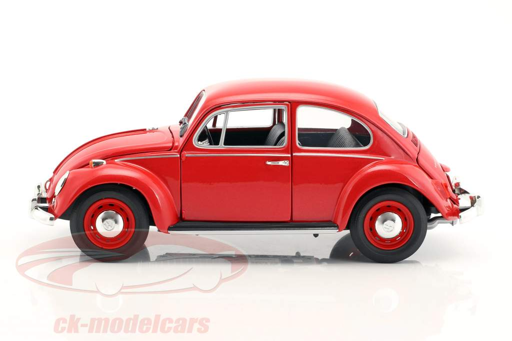 Volkswagen VW Käfer RHD Baujahr 1967 rot 1:18 Greenlight