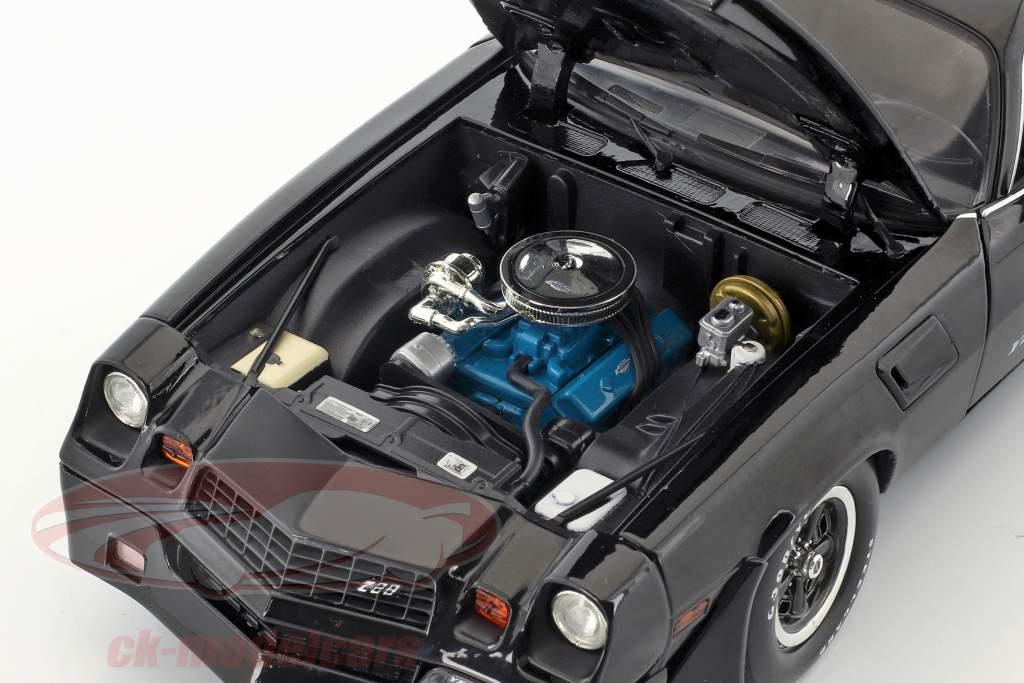 Chevrolet Z/28 Yenko Turbo Z année de construction 1981 noir 1:18 Greenlight