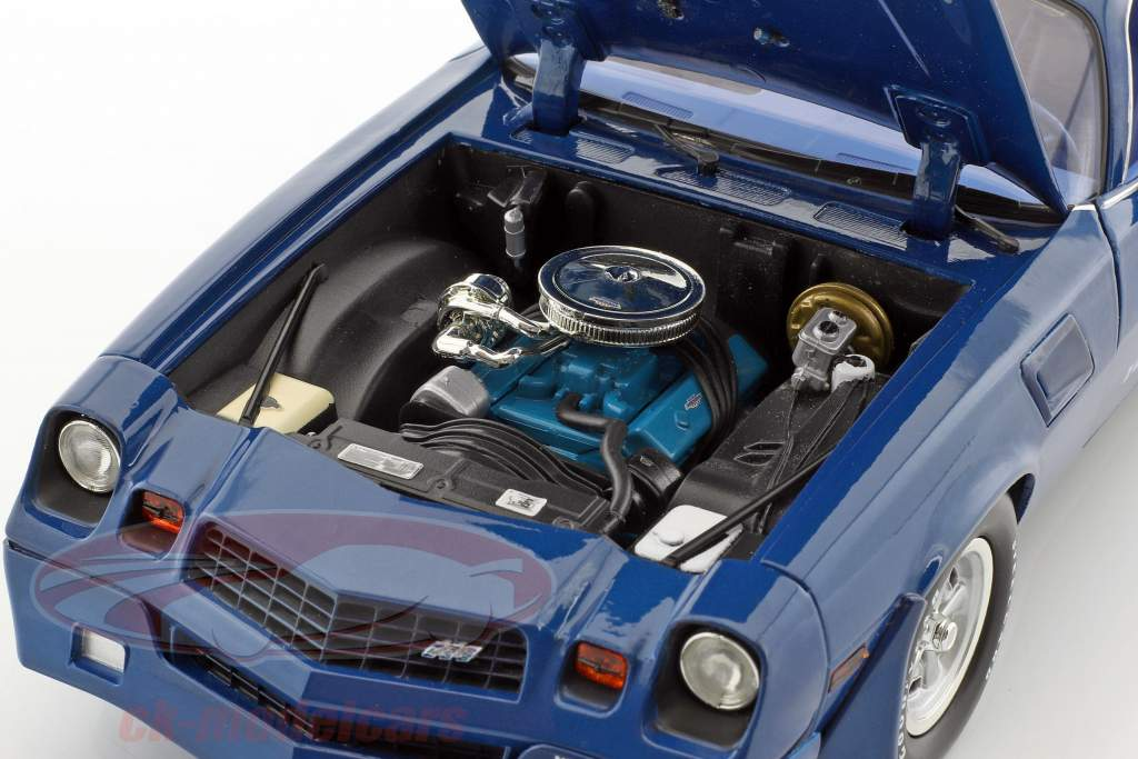 Chevrolet Z/28 Yenko Turbo Z année de construction 1981 bleu 1:18 Greenlight