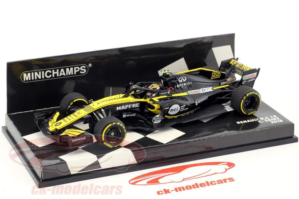Carlos Sainz jr Renault R.S.18 #55 Formel 1 2018 1:43 Minichamps