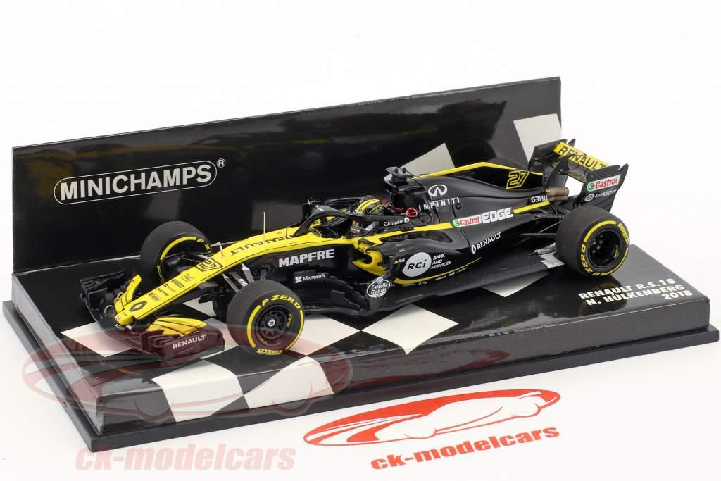 Nico Hülkenberg Renault R.S.18 #27 formule 1 2018 1:43 Minichamps