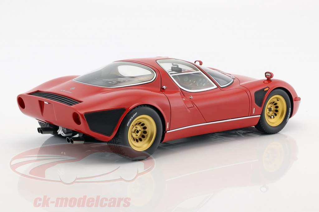Alfa Romeo Tipo 33 Stradale year 1967 red 1:12 Premium ClassiXXs