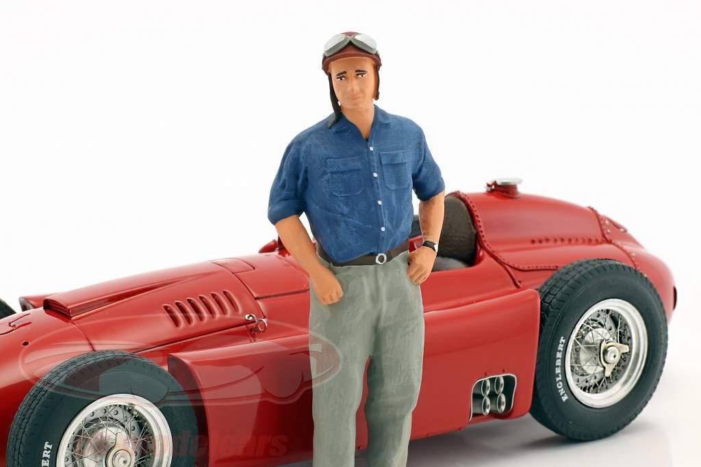 J.M. Fangio Ferrari D50 #1 World Champion formula 1 1956 with figure 1:18 CMC
