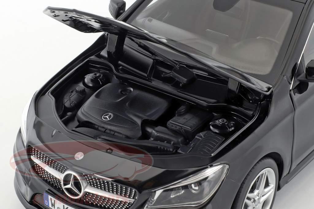 Mercedes-Benz CLA-Class (X117) Shooting Brake anno di costruzione 2015 nero 1:18 Norev