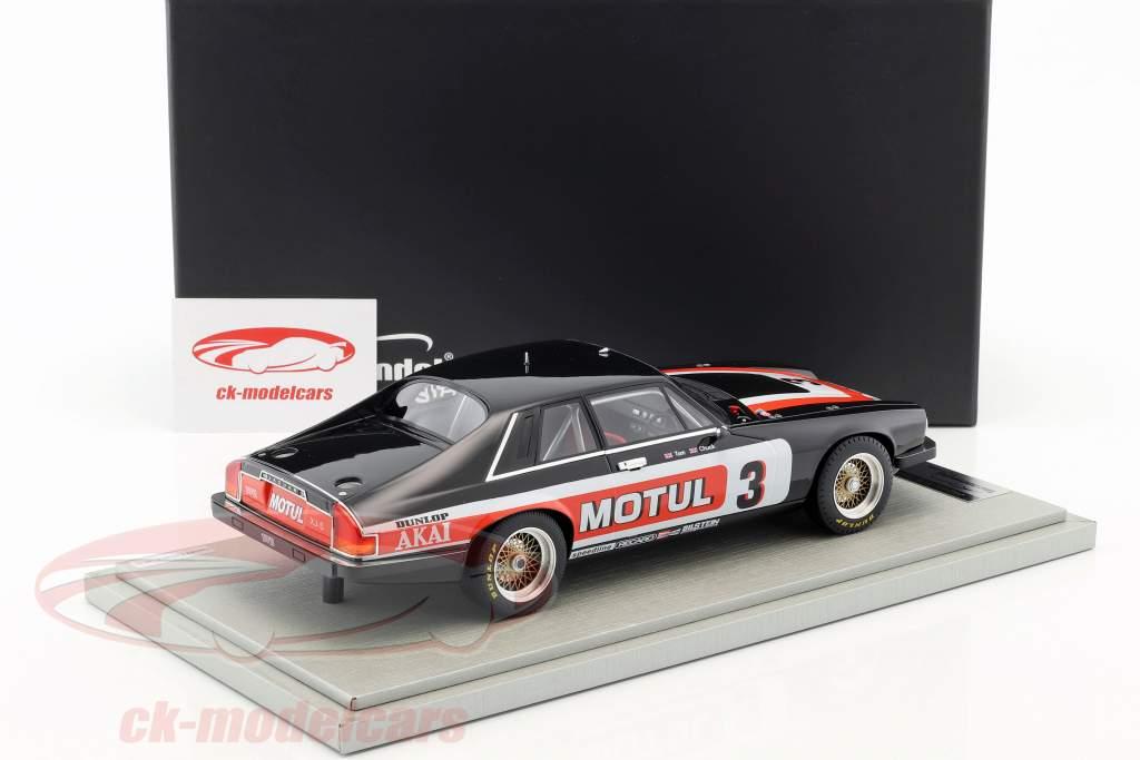 Jaguar XJS #3 gagnant Tourist Trophy 1982 Walkinshaw, Nicholson 1:18 Tecnomodel