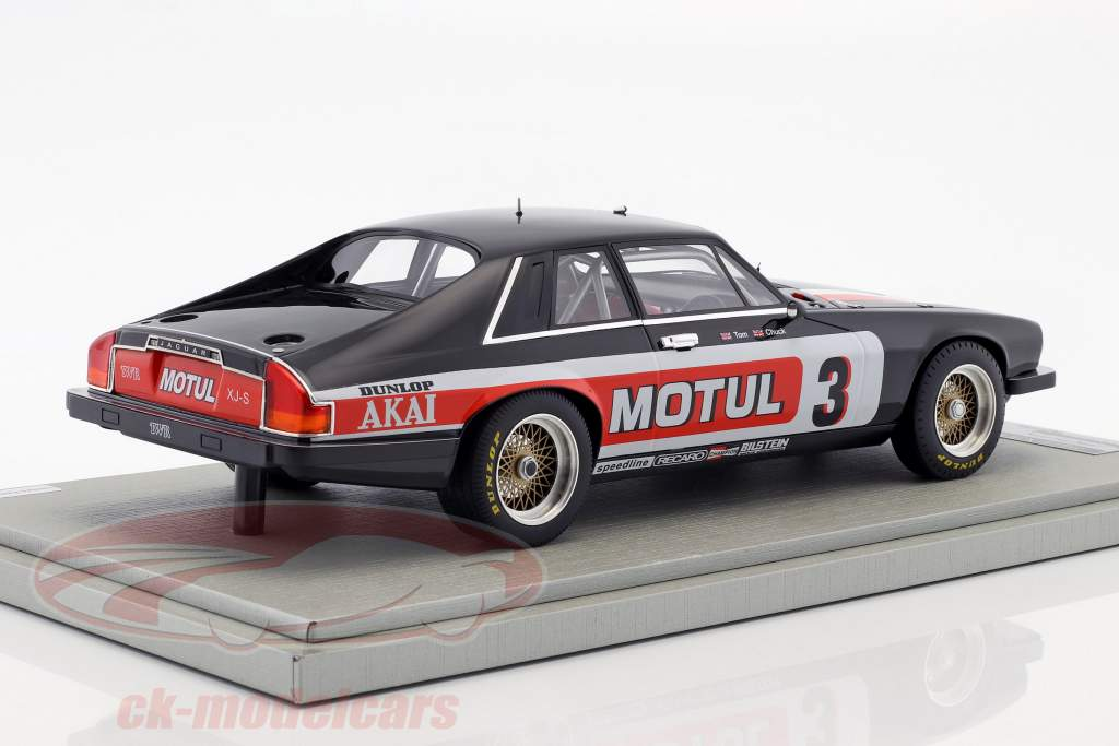 Jaguar XJS #3 Winner Tourist Trophy 1982 Walkinshaw, Nicholson 1:18 Tecnomodel