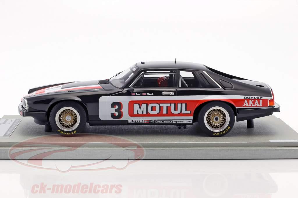 Jaguar XJS #3 vincitore Tourist Trophy 1982 Walkinshaw, Nicholson 1:18 Tecnomodel