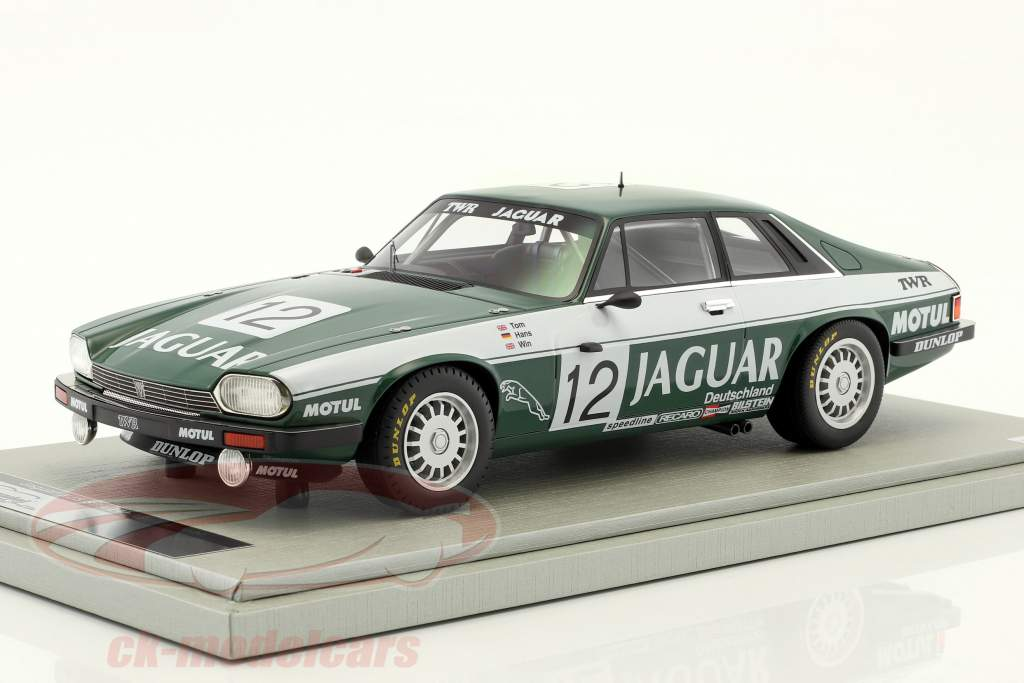 Jaguar XJS #12 vincitore 24 Spa 1984 Walkinshaw, Percy, Heyer 1:18 Tecnomodel