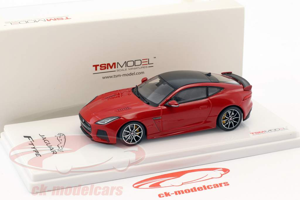 Jaguar F-Type SVR AWD caldeira rouge 1:43 TrueScale