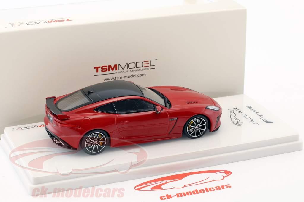 Jaguar F-Type SVR AWD caldera rot 1:43 TrueScale