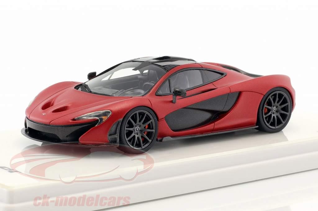 McLaren P1 natte rouge 1:43 TrueScale