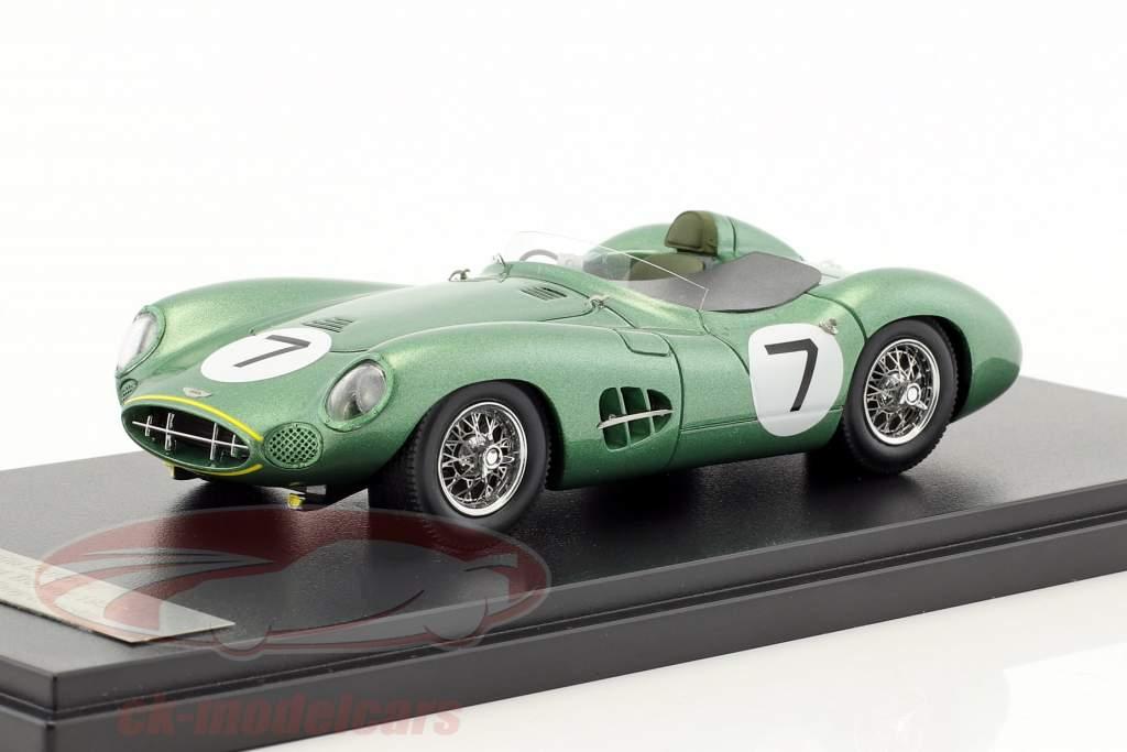 Aston Martin DBR1 #7 vincitore RAC Tourist Trophy 1958 Moss, Brooks 1:43 Matrix