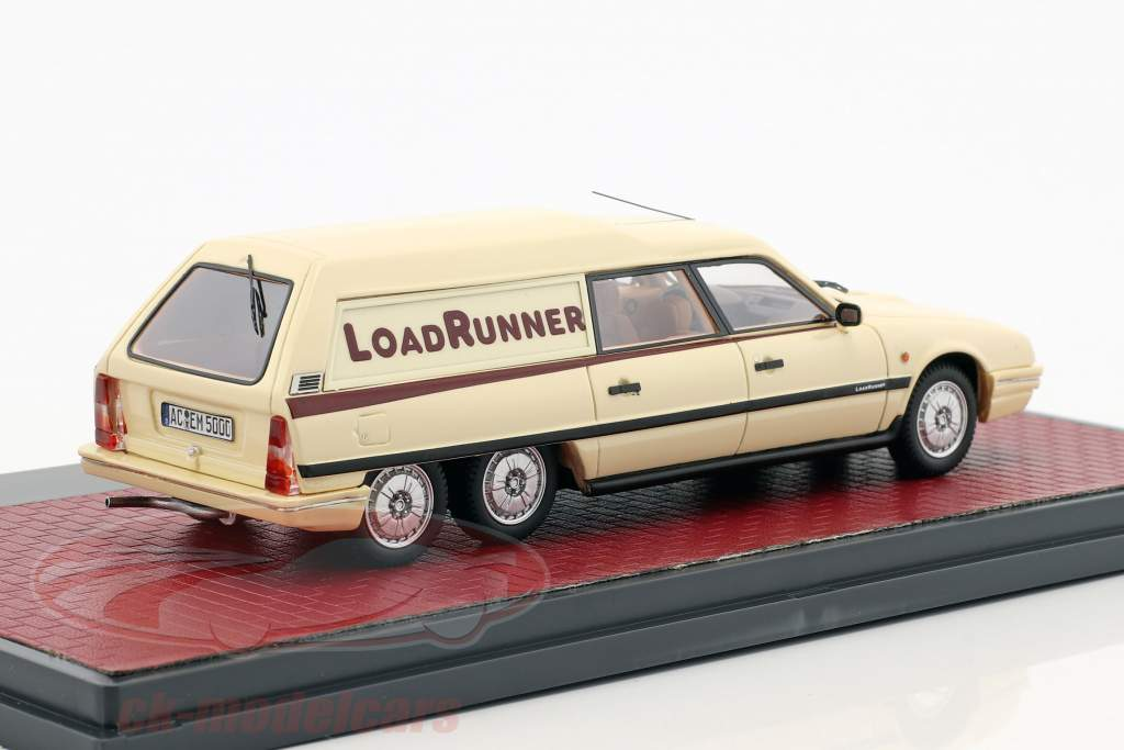Citroen CX Break Loadrunner anno 1989 beige 1:43 Matrix