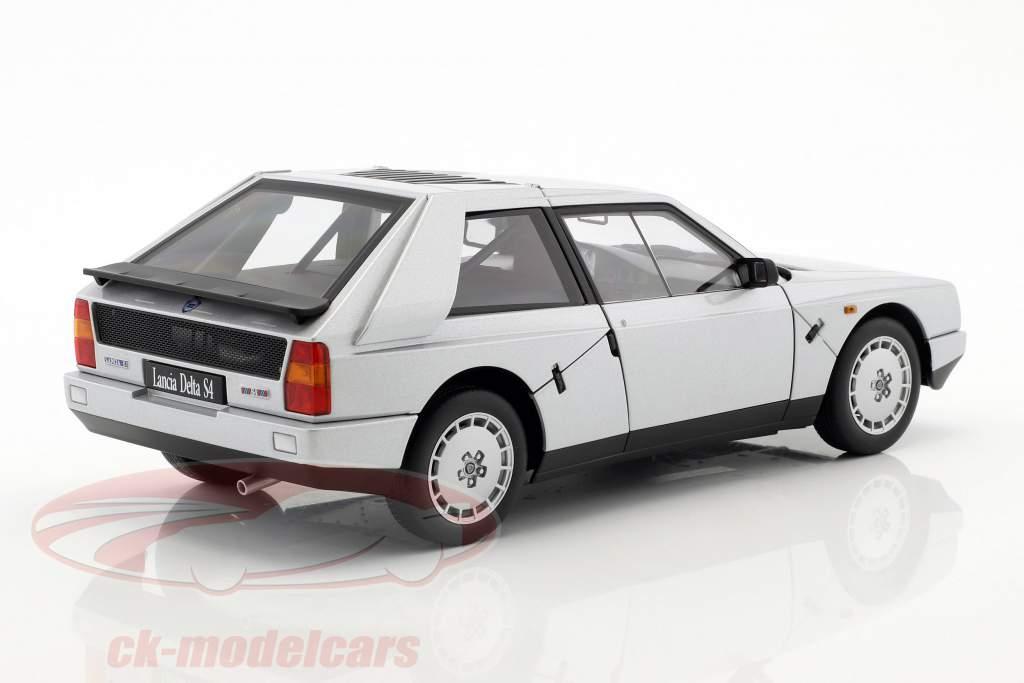 Lancia Delta S4 Año 1985 gris metálico 1:18 AUTOart