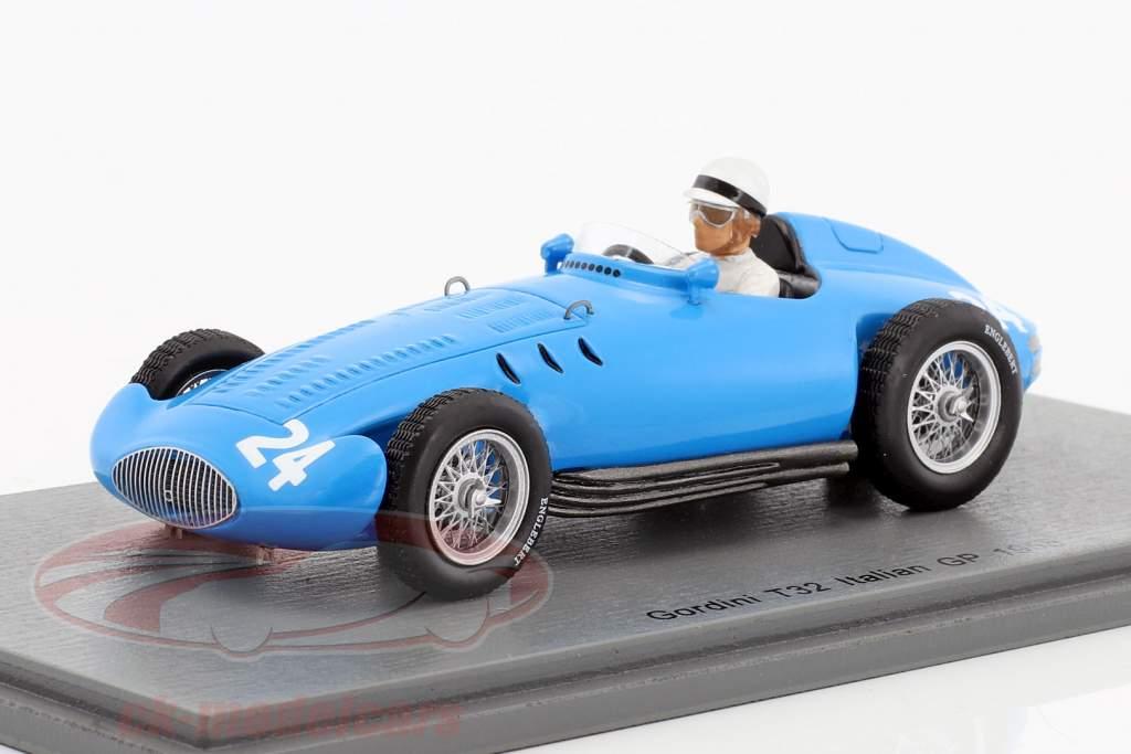 Jean Lucas Gordini T32 #24 italien GP formule 1 1955 1:43 Spark